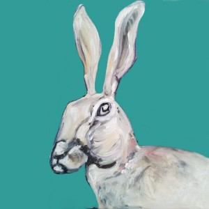 The Steel Rooms Colour Hare Card