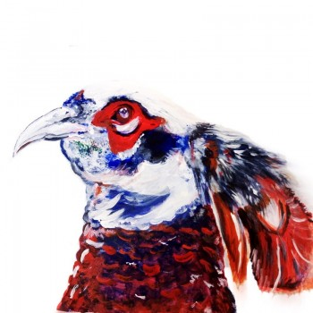 The Steel Rooms Pheasant Card
