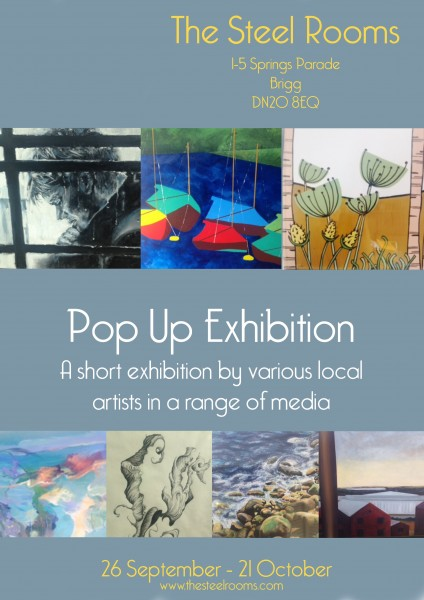 Pop Up Exhibition Poster