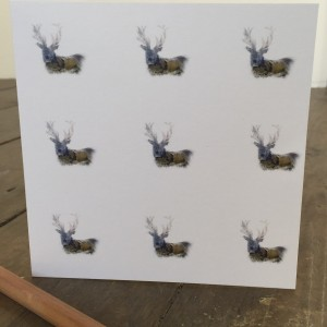 The Steel Rooms Multiple Stag Card JSMI1