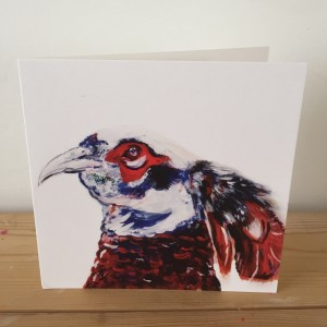 The Steel Rooms Pheasant Card JSWC15