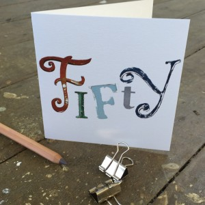 Fifty Card by The Steel Rooms