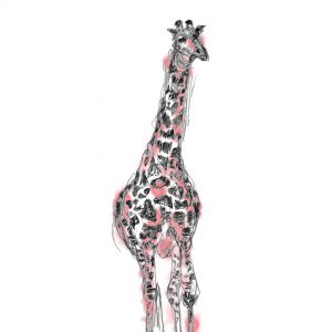 Emma Roberts Giraffe Card The Steel Rooms