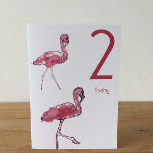 The Steel Rooms Flamingo age 2 by Emma Roberts