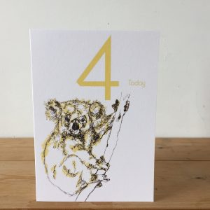 The Steel Rooms Koala age 4 by Emma Roberts
