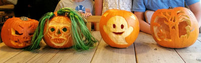 Pumpkin Carving Workshop at The Steel Rooms